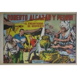 ROBERTO ALCÁZAR Y PEDRÍN Núm 973: EL ENCANTADOR DE SERPIENTES