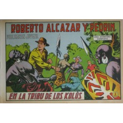 ROBERTO ALCÁZAR Y PEDRÍN Núm 975: EN LA TRIBU DE LOS KOLÚS