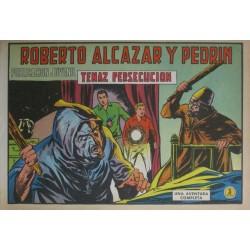 ROBERTO ALCÁZAR Y PEDRÍN Núm 989: TENAZ PERSECUCIÓN