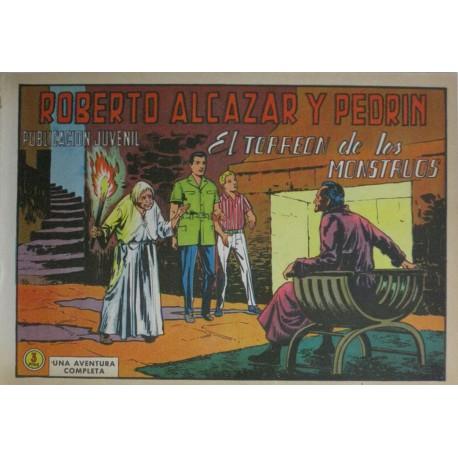 ROBERTO ALCÁZAR Y PEDRÍN Núm 994: EL TORREON DE LOS MONSTRUOS