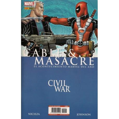 CABLE Y MASACRE CIVIL WAR