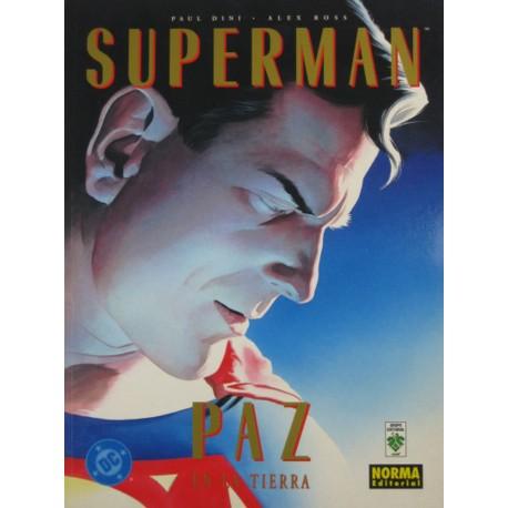 SUPERMAN PAZ EN LA TIERRA.