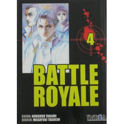 BATTLE ROYALE Núm 4