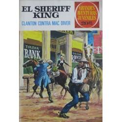EL SHERIFF KING Núm 14: CLANTON CONTRA MAC DIVER
