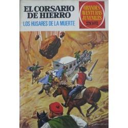 """EL CORSARIO DE HIERRO Núm 72. """"LOS HUSARES DE LA MUERTE"""""""