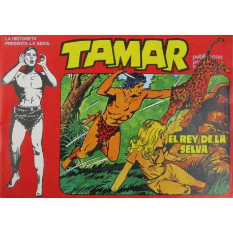"""TAMAR. Núm.7 """" EL REY DE LA SELVA""""."""