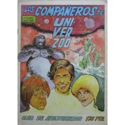 CLUB DE AVENTUREROS Núm 2: LOS COMPAÑEROS DE UNIVERZOO