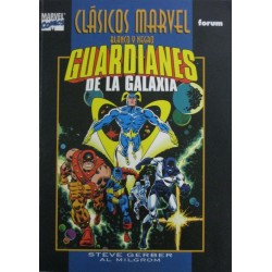 CLÁSICOS MARVEL B/N Núm 9: GUARDIANES DE LA GALAXIA