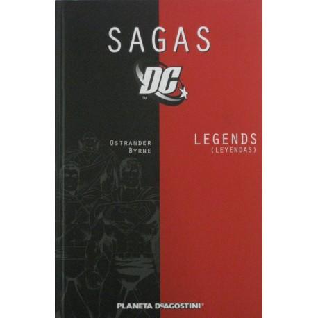 SAGAS DC Núm 1: LEGENDS
