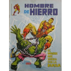 EL HOMBRE DE HIERRO Núm 3: EL HOMBRE QUE QUERIA SER LA MASA