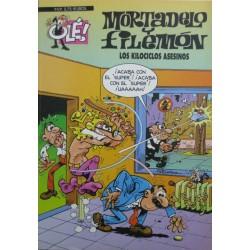 """MORTADELO Y FILEMON Núm 85.""""LOS KILOCICLOS ASESINOS""""."""