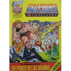 MASTERS DEL UNIVERSO Núm 2: EN PODER DE LAS ARAÑAS