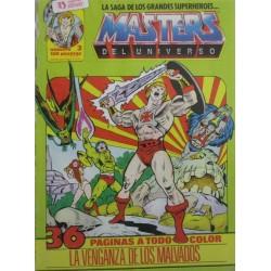 MASTERS DEL UNIVERSO Núm 3: LA VENGANZA DE LOS MALVADOS