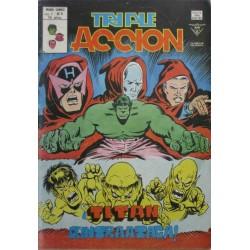"""TRIPLE ACCION VOL 1 Núm 8 """"¡TITAN CONTRATACA!"""""""