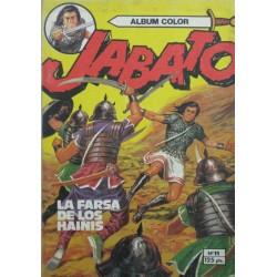"""JABATO ALBUM COLOR Núm 11 """"LA FARSA DE LOS HAINIS"""""""
