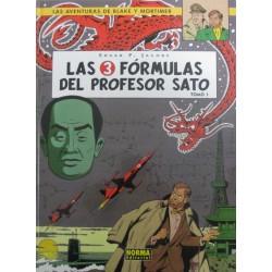 LAS AVENTURAS DE BLAKE Y MORTIMER Núm 8: LAS 3 FÓRMULAS DEL PROFESOR SATO