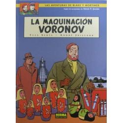 LAS AVENTURAS DE BLAKE Y MORTIMER Núm 14: LA MAQUINACIÓN VORONOV
