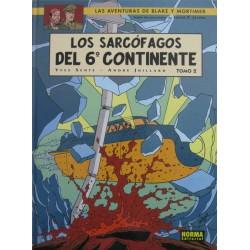 LAS AVENTURAS DE BLAKE Y MORTIMER Núm 17: LOS SARCÓFAGOS DEL 6º CONTINENTE