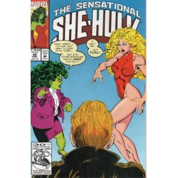 THE SENSATIONAL SHE-HULK Núm 49