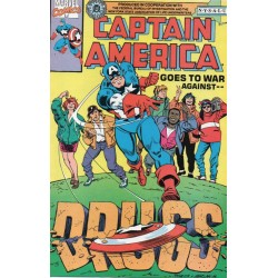CAPTAIN AMERICA: GOES TO WAR AGAINST DRUGS