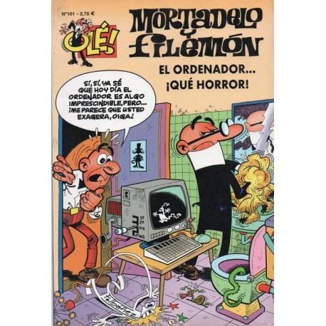 """MORTADELO Y FILEMON Núm 161 """"EL ORDENADOR…¡QUÉ HORROR!""""."""