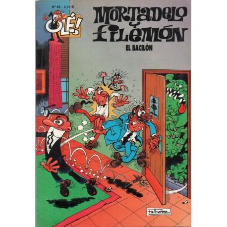 """MORTADELO Y FILEMON Núm 83 """"EL BACILÓN""""."""
