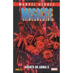 MASACRE: AGENTE DE ARMA X
