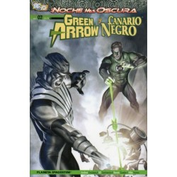 GREEN ARROW Y CANARIO NEGRO Núm 2