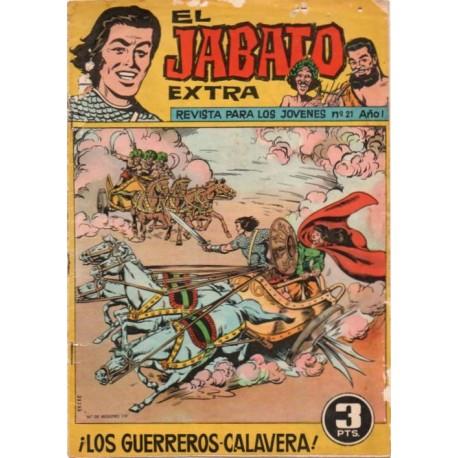 EL JABATO EXTRA Núm 21: ¡LOS GUERREROS CALAVERA!