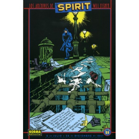 LOS ARCHIVOS DE THE SPIRIT Núm 15