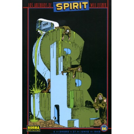LOS ARCHIVOS DE THE SPIRIT Núm 16