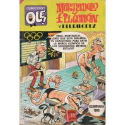 "MORTADELO Y FILEMÓN Núm. 195 ""OLIMPIADA 1980"""