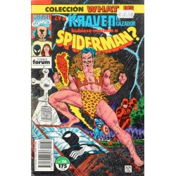 WHAT IF. Núm 26. ¿Y SI KRAVEN EL CAZADOR HUBIESE MATADO A SPIDERMAN?