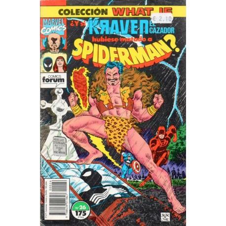 WHAT IF. Núm 26. ¿Y SI KRAVEN EL CAZADOR HUBIESE MATADO A SPIDERMAN?
