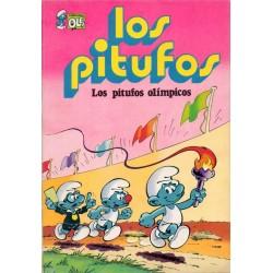 """LOS PITUFOS Núm 11 """"LOS PITUFOS OLÍMPICOS"""""""