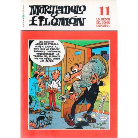 LO MEJOR DEL CÓMIC ESPAÑOL Núm 11: MORTADELO Y FILEMÓN