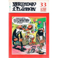 LO MEJOR DEL CÓMIC ESPAÑOL Núm 33: MORTADELO Y FILEMÓN