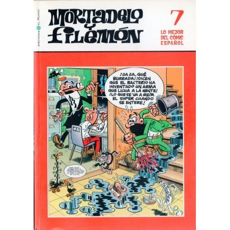 LO MEJOR DEL CÓMIC ESPAÑOL Núm 4: MORTADELO Y FILEMÓN