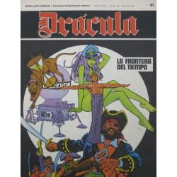 DRÁCULA Núm 41: LA FRONTERA DEL TIEMPO