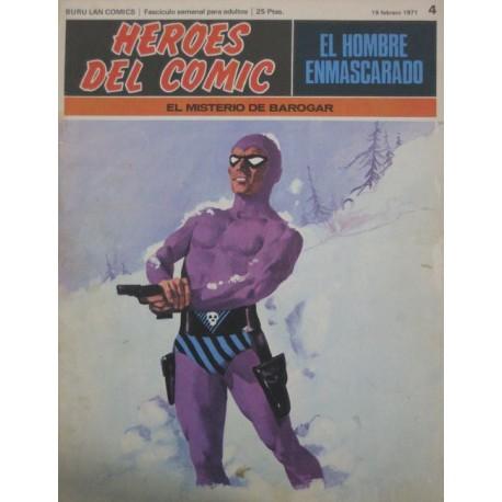 EL HOMBRE ENMASCARADO Núm 4: EL MISTERIO DE BAROGAR
