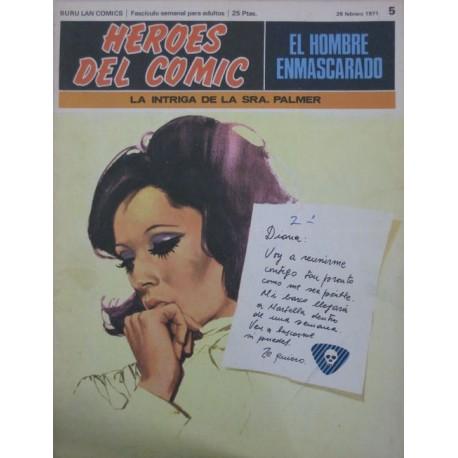 EL HOMBRE ENMASCARADO Núm 5: LA INTRIGA DE LA SRA. PALMER