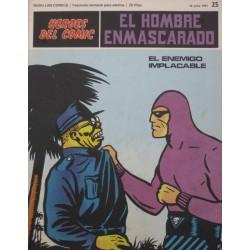EL HOMBRE ENMASCARADO Núm 25: EL ENEMIGO IMPLACABLE