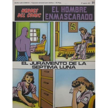 EL HOMBRE ENMASCARADO Núm 31: EL JURAMENTO DE LA SÉPTIMA LUNA