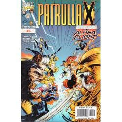 PATRULLA X VOL 2. Núm 35