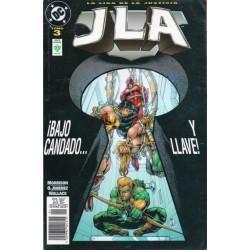 JLA: ¡BAJO CANDADO Y LLAVE!