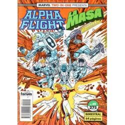 ALPHA FLIGHT/ LA MASA Núm 49