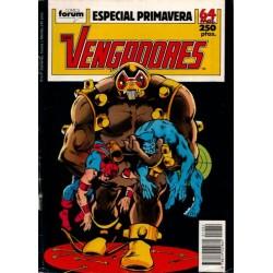 LOS VENGADORES ESPECIAL PRIMAVERA 1989