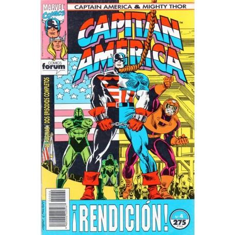 CAPITÁN AMÉRICA Y  THOR EL PODEROSO VOL 2 Núm 4