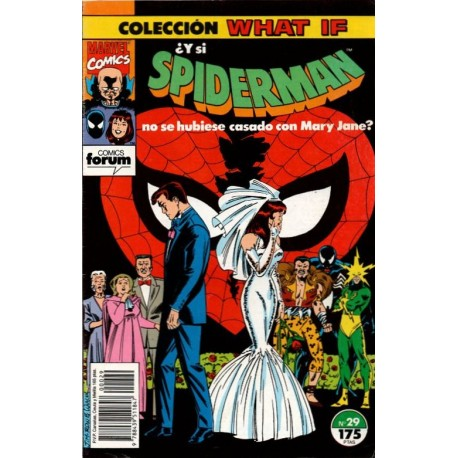 WHAT IF. Núm 29. ¿ Y SI SPIDERMAN NO SE HUBIESE CASADO CON MARY JANE?