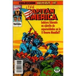 WHAT IF. Núm 38. ¿ Y SI EL CAPITÁN AMÉRICA HUBIERA LIDERADO UN EJÉRCITO DE SUPERSOLDADOS EN LA II GUERRA MUNDIAL?